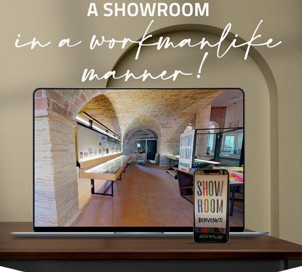 New virtual showroom by Gommus