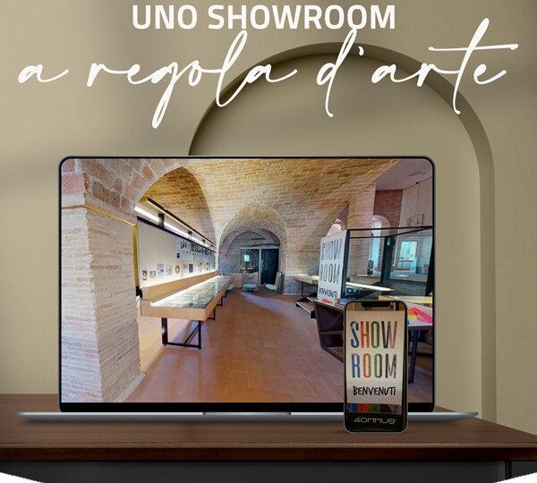 Nuovo showroom virtuale di Gommus